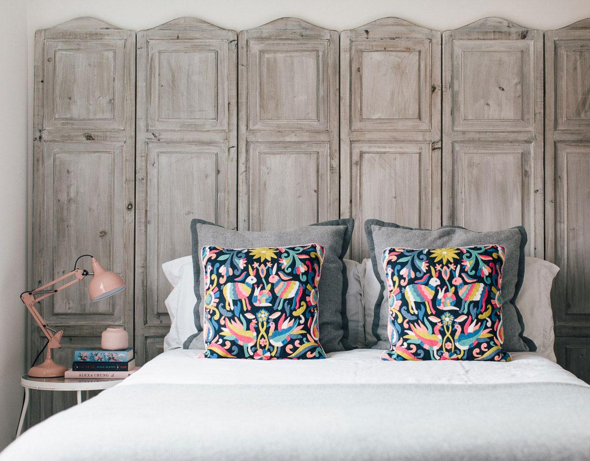 Boho folk bedroom