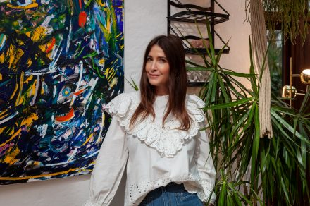 At home with Lisa Snowdon